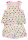 Girls Chainstore 2in1 Sleeveless Ditsy Floral Print Shorts Playsuit 3 - 12 Years