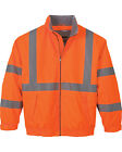 North End Men's Vertical Stripe Insulated Safety Jacket 88705