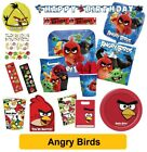 ANGRY BIRDS Movie - Birthday PARTY RANGE (Tableware/Balloons/Decorations)