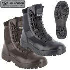 Highlander Pro Force Alpha Boots – Full Grain Leather Black & Brown UK sz 3 – 13