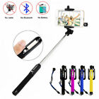 Solar Power Extendable Selfie Stick Pola Monopod Infrared Control For iphone 6