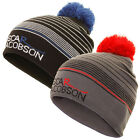 Oscar Jacobson Mens Ray Golf Hat Bobble Beanie Winter Knit Pom Wooly Hat