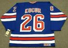 JOEY KOCUR New York Rangers 1995 CCM Vintage Away NHL Hockey Jersey