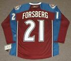 PETER FORSBERG Colorado Avalanche Reebok Premier Home NHL Hockey Jersey