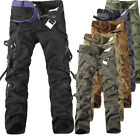 PODOM Herren Cargo Hose Pants Militär Trousers Jeans Freizeithose Camouflage