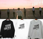 NO.2 Kpop BTS Bangtan Boys Young Forever With Shield Sweater Shirt Unisex