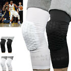 2pcs Basketball Crashproof Antislip Knee Leg Long Sleeve Protector Honeycomb Pad