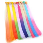 Lot Ombre Two Tone Colors Cosplay Party Synthetic I Tip Feather Hair Extension