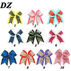"""8"""" Big Sequin Cheer Bows Clips Hand Made Bling Girl's Cheerleading Hair Bow"""