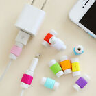 5/10X Protector Saver Cover for iPhone Lightning USB Charger Cable Cord