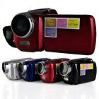 "Hot Digital DV Video Camera 12MP 4x Zoom 1.8"" LCD Mini DVR Camcorder Red Black"