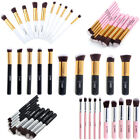 10Pcs/Set Vander Makeup Brush Kit Eyeliner Lip Brushes Face Powder Brush Blush