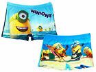 Boys Official Despicable Me Minions Swim Boxer Short Trunks 3 to 8 Years