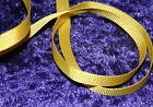 RIBBON GROSGRAIN 3m CANARY YELLOW 6 mm (max P&P offer)1