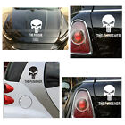 Fashion Silver Punisher Skull Badge Emblem Cool Decal Car Truck Vehicle Sticker