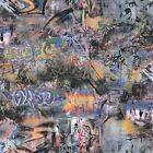 Graffiti Wallpaper - Illusion - Wall Decoration - 20640 - Urban Feature Wall