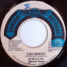 JAH STONE & RIGHTEOUS FLAMES: Easy Squeeze / I're Little Filly 45 Hear! (Jamaic