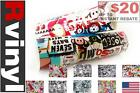 Rwraps Sticker Bomb Vinyl Wrap Sheet Film Roll for Trunk Lids Skirts & More