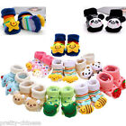 Newborn Baby Girl Boy Unisex Lovely Anti-slip Socks Animal Boots 0-6 Months New
