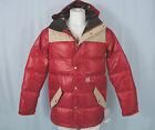 NEW Burton Limited Heritage Down Jacket!  *Warm Throwback Puffer*  *Proof Red*