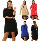 Vintage Womens Plus Size Autumn Casual Prom Dress 3/4 Sleeve Party Long Dresses