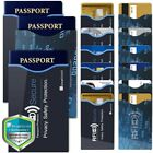 15 RFID Blocking Credit Card Passport Holder Case Cover Safety Sleeve Protector