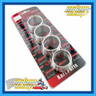 "GO KART "" WHEEL HUB SPACERS 40MM OR 50MM AXLES "" 8 PIECE SET ALLOY OR NYLON"