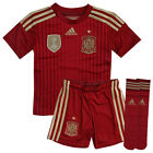 Adidas FEF SMU Spain Home Replica FIFA 2010 Kids Unisex Mini kit Set G85238 R3C
