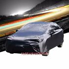 9-Layer Black Peva All Weather Water Resist Breathable In/Out Door Car Cover