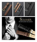 Watch Strap Leather Replacement Repair Band Black/Brown Leather UK