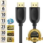 Hdmi 1 4 4k 3d Hdtv Pc Xbox One Ps4 High Speed Cable Plug 3 6 10 15 25 30 50 Ft