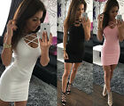 Sexy Women's Summer Bandage Bodycon Evening Party Cocktail Short Mini Dress TY