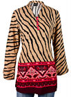 Ladies Indian Long Sleeve Kurta-Kurti Tops Multicoloured KL6570 Various Sizes
