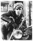MARLON BRANDO on motorcycle still THE WILD ONE 8x10 or 11x14 or 16x20 - (c474v)