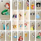 Kids Cartoon Disney Free Screen Protector Matte Cover Case For iPhone Series