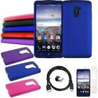 Phone Case For Straight Talk ZTE Max Duo Hard Cover Type-C USB Charger Film