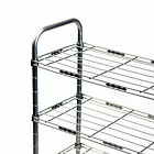 Steel Shoe Rack Stackable Shoe Closet Organizer Space Saver Metal Shoe Rack