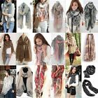 New Women Chiffon Cotton Long Neck Large Scarf Wrap Shawl Pashmina Stole Scarve