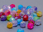 4x4mm 500/1000/2000/5000pcs ASSORTED IRIDESCENT ACRYLIC RONDELLE BEAD CC3207