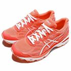 Asics GT-1000 5 V Orange White Womens Running Shoes Sneakers Trainers T6A8N-0601