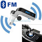 Car Bluetooth FM Transmitter Hands-free LCD MP3 Player Radio Adapter Kit Charger