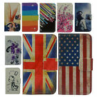 For various Cell Phone magnet PU leather card wallet cover case + stylus + gift