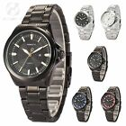 Official AgentX Men's Date Display Quartz Steel Hands Sport Wrist Watch