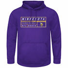 Majestic Minnesota Vikings Purple Startling Success Pullover Hoodie