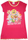Girls Shopkins Besties for Life Polly Popcorn Nightdress Nightie 2 to 8 Years