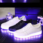 Unisex LED Light Lace Up Luminous Shoes Sportswear Sneaker Luminous Casual Shoes