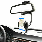 Universal 360° Car Rearview Mirror Mount Air Vent Holder Stand Cradle For Phone