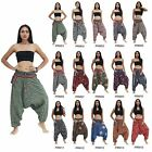 Pants PRM1-15 Thailand Cotton Hippie Gypsy Tribal Hmong Harem Peasant Woman Men