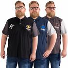 Loyalty & Faith Big Mens Plus Size Polo Shirt Short Sleeve King Top 2XL - 5XL