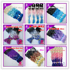 New Mixed 3 Color Kanekalon Jumbo Braiding Synthetic Hair Extension Twist Braids
